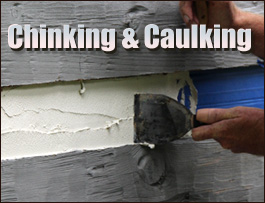 Chinking And Caulking  Summit County, Ohio