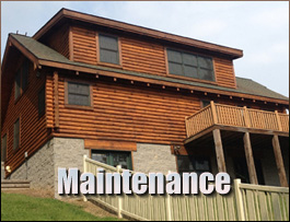 Log Home Maintenance  Summit County, Ohio